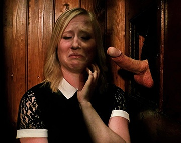 I Confess Files Nympho Blonde Satine Spark Is Cleansed By The Priest's Big Dick